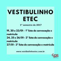 Vestibulinho Convocacao 2017-01
